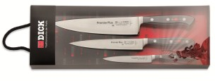 F Dick 3-Piece Knife Set, Premier Plus |  F Dick 8109800