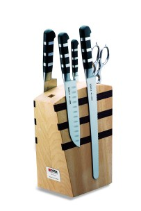F Dick Wooden Knife Block Magnetic w/ 1905 Series Knives  |  F Dick 8197000