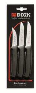 F Dick Kitchen Knife Set - 3 Piece (Paring Knives)     F Dick 8570004